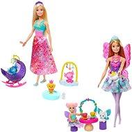Barbie Pohádkový herní set s panenkou - Panenka