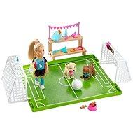 Barbie Chelsea fotbalistka herní set - Panenka