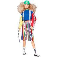 Barbie v ponožkových teniskách módní deluxe - Panenka