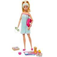 Barbie Wellness panenka s časopisem