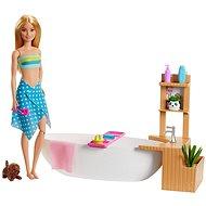 Herní set Barbie Wellness panenka v lázních herní set