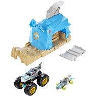 Hot wheels Monster trucks velké nesnáze modrý - Herní set