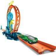 Hot Wheels Track builder set pro stavitele Loop Kicker - Herní set