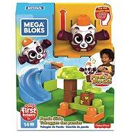 Mega Bloks Peek a blocks velká skluzavka - lesní panda - Herní set