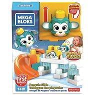 Mega Bloks Peek a blocks velká skluzavka - tučňák - Herní set