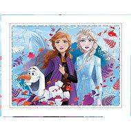 Frozen 2 Měnící se puzzle - Puzzle