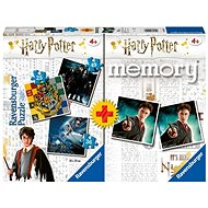 Ravensburger 050543 Harry Potter Memory Game + 25/36/49 pieces - Puzzle