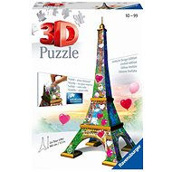 Ravensburger 3D 111831 Eiffelova věž Love edice