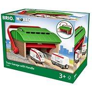 Brio World 33474 Portable Train Depot - Rail Set Accessory