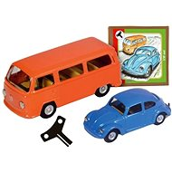 VW brouk + minibus set Kovap - Kovový model