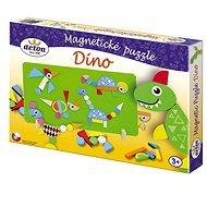 Detoa Magnetické puzzle Dinosauři - Puzzle