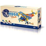 Mechanik Hugo staví Letadlo Seva stavebnice - Stavebnice