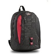 Moto GP 25l Black/Red - School Backpack