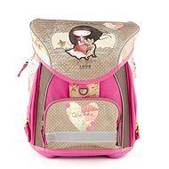 Anekke aktovka s přední kapsou Sweet - Školní batoh