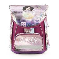 Anekke aktovka s přední kapsou Balerina - Školní batoh