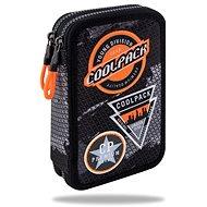 Coolpack Jumper 2 černý/oranžový - Penál
