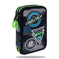 Coolpack Jumper 2 šedý/zelený - Penál