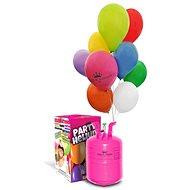 Heliový set + 50 balónků a mašle