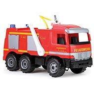 Lena Mercedes hasičské auto s nálepkami