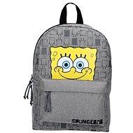 Spongebob Iconic Gray Backpack - Školní batoh