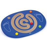 Dřevěná balanční deska s labyrintem - Dřevěná hračka