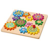 Wooden gears - Wooden Toy