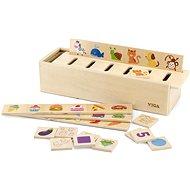 Dřevěná hračka Dřevěná hra - třídění