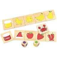 Dřevěné puzzle - barvy - Dřevěná hračka