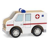 Wooden ambulance - Wooden Toy