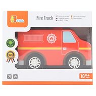 Wooden fire truck - Wooden Toy