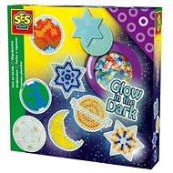 SES Zažehlovací korálky - svítící hvězdy - Korálky