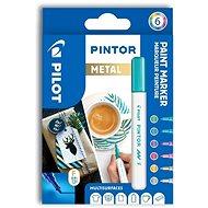 Pilot Pintor F metalické barvy
