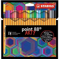 Stabilo Point 88 ARTY 24 barev
