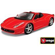 Bburago Ferrari 458 Spider Red