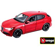 Bburago Alfa Romeo Stelvio Red