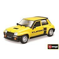 Bburago Renault 5 Turbo Yellow