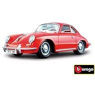 Bburago Porsche 356B Coupe (1961) Red - Model