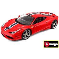 Bburago Ferrari 458 Speciale Ferrari Race&Play Red