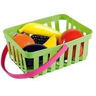 Androni Nákupní košík s ovocem - 6 kusů, zelený - Set