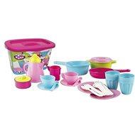 Androni Kávový a kuchyňský set s úložným boxem - 26 dílů - Dětské nádobí