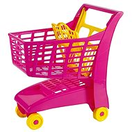 Androni Nákupní vozík se sedátkem - růžový - Dětský vozík