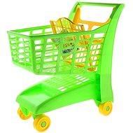 Androni Nákupní vozík se sedátkem - zelený - Dětský vozík
