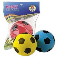 Míč pro děti Androni Soft míč - průměr 20 cm, žlutý