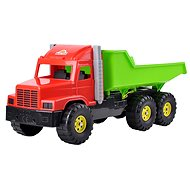 Náklaďák červeno-zelený - Auto