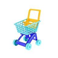 Nákupní vozík modrý - Vozík