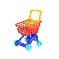 Nákupní vozík červený - Vozík