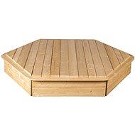 Sandpit with 6-sided cover - Sandpit