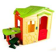 Little Tikes Domek s piknikovým stolkem - Natural - Dětský domeček