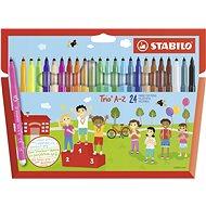 Stabilo Trio A-Z 24 barev