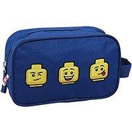 Toaletní taška LEGO Faces Blue - Pouzdro do školy